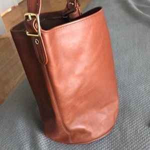 Coach leather duffel